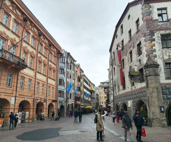 Centro storico a Innsbruck