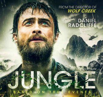 Daniel Radcliffe nella locandina del film