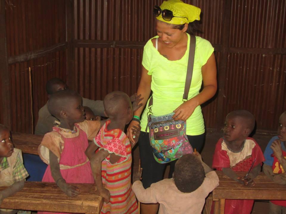 visita a una scuola masai