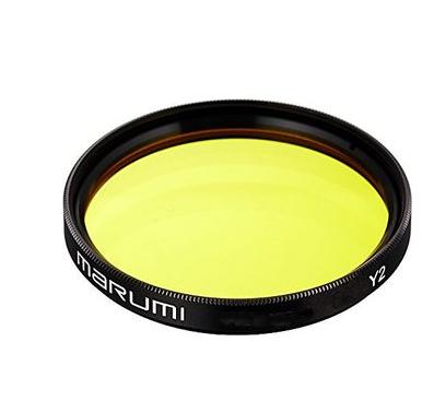Filtro giallo Marumi analogico