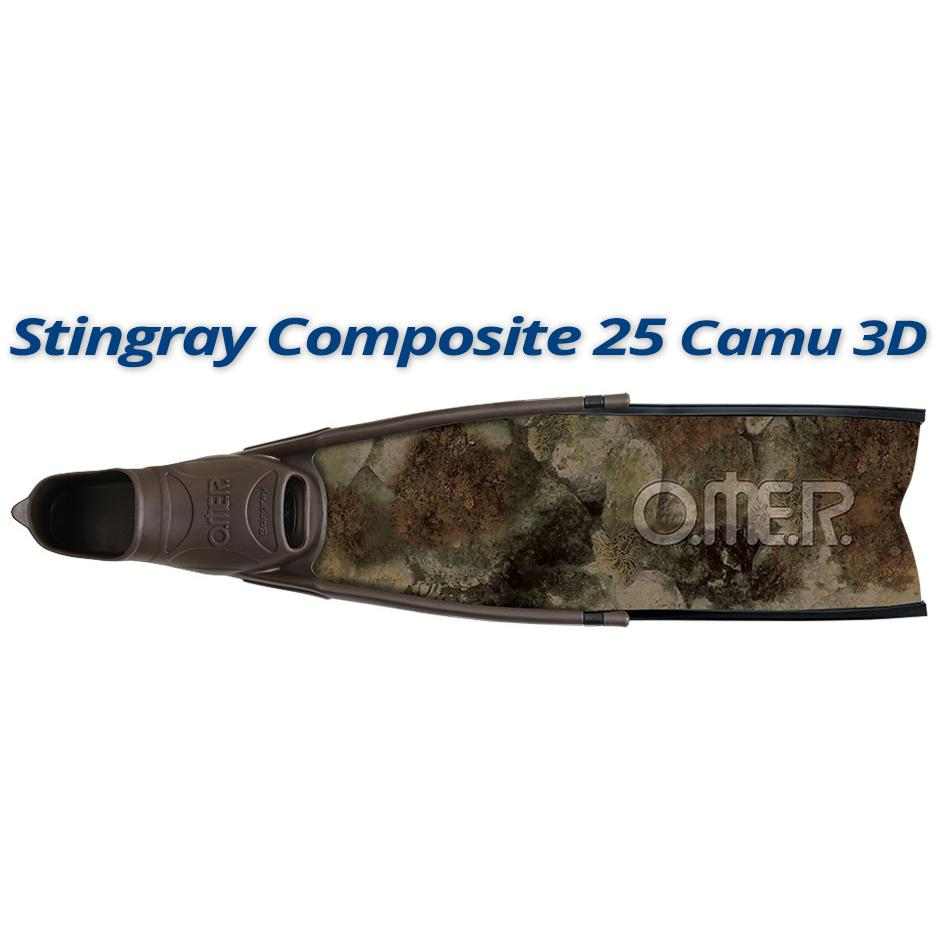 OMER SUB - Stingray Composite 25 Camu 3D