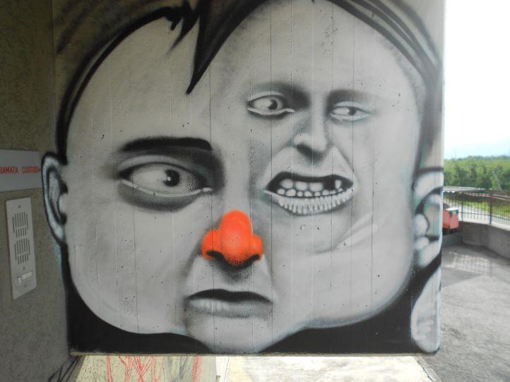 Street Art e Writing a Tirano nel'ex carcere mandamentale di Tirano 1