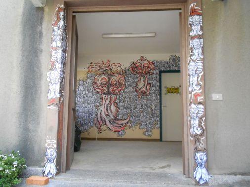 Street Art e Writing a Tirano nel'ex carcere mandamentale di Tirano 32