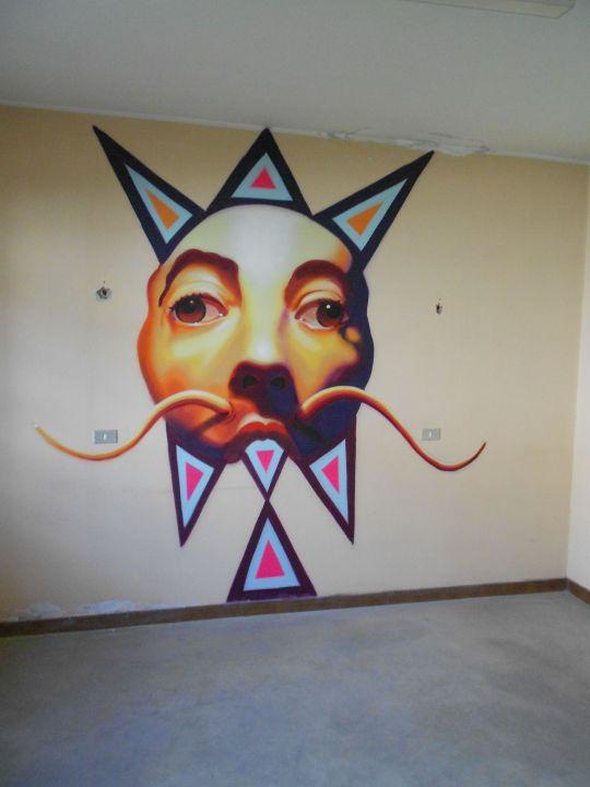 Street Art e Writing a Tirano nel'ex carcere mandamentale di Tirano 4