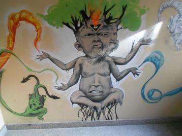 Street Art e Writing a Tirano nel'ex carcere mandamentale di Tirano 83