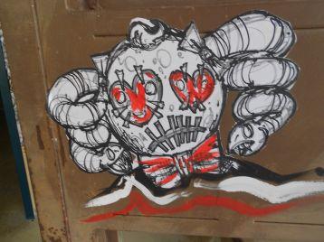 Street Art e Writing a Tirano nel'ex carcere mandamentale di Tirano 84