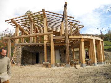 case in paglia - struttura portante