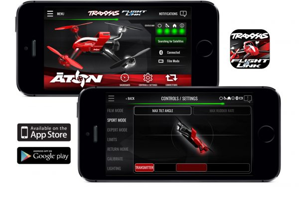 Traxxas-Flight-Link-Screens