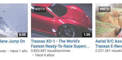 Top 5 – Videos más vistos de Traxxas !