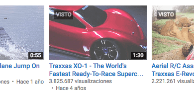 Top 5 – Videos más vistos de Traxxas !