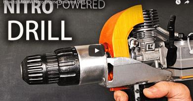 Cómo fabricar un Taladro con Motor Nitro! :0