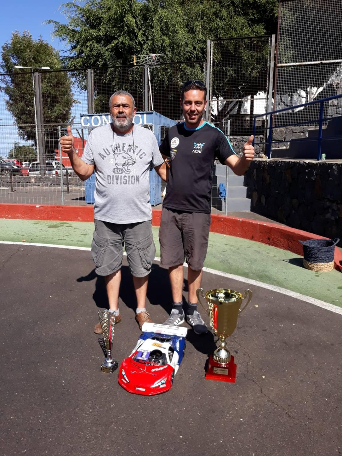 Archimenchia Díaz Campeonato 1/8 GT Canarias GT8 RC
