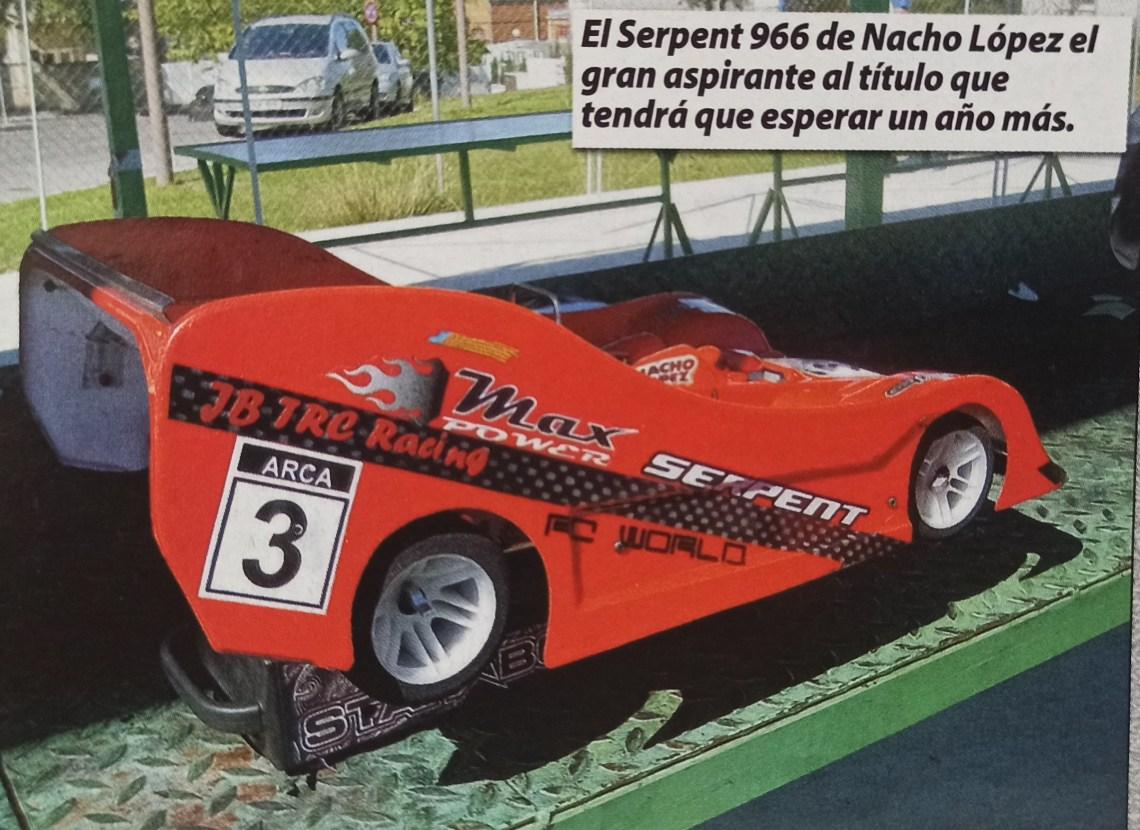 Campeonato España 1/8 PIsta Gas 2010