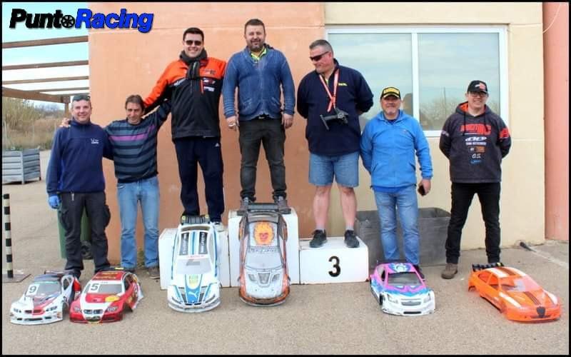podio 1:5 Touring Campeonato Aragon 2020