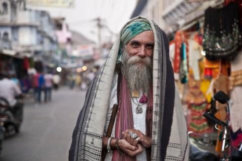 Nuestro gran amigo en Pushkar