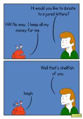 crabby response