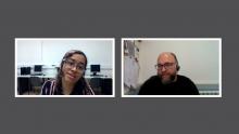 Hablamos sobre software libre con Lady Pazmiño del Omnia Colectic y David Picó del Omnia PESO La Mina.
