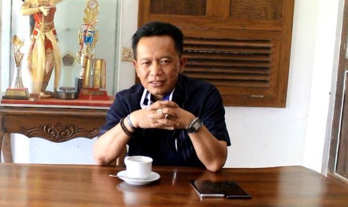 Sekretaris DPC Partai Demokrat, Ronny Wahyono, yang juga Bakal Calon Bupati Pacitan.