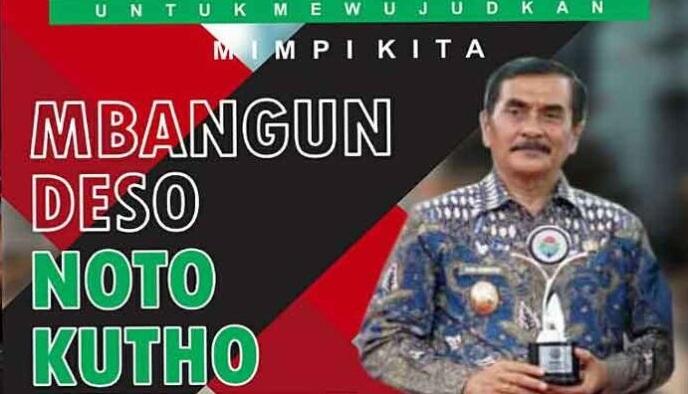 Yudi Sumbogo, Calon Bupati Pacitan 2021-2024 nomor urut dua.