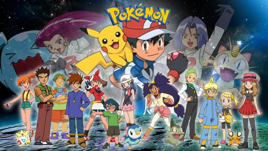Pokemon Serie Completa Latino