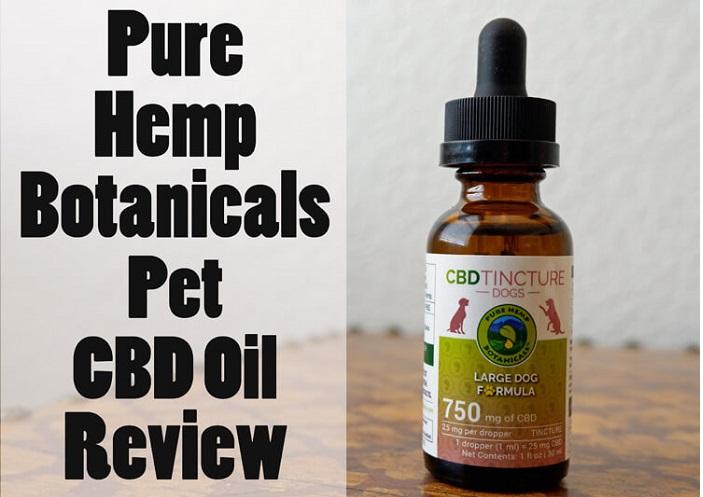 Pure Hemp Botanicals Pet CBD Oil Review