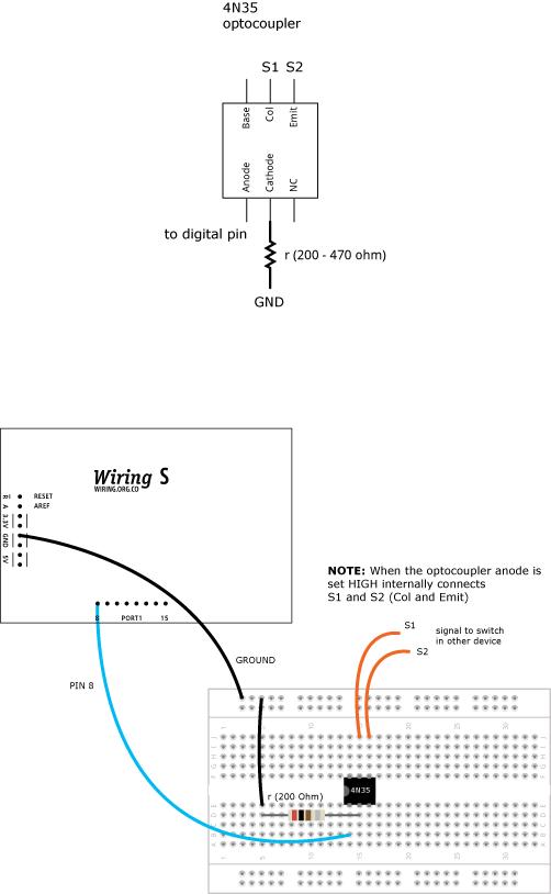 Optocoupler4N3
