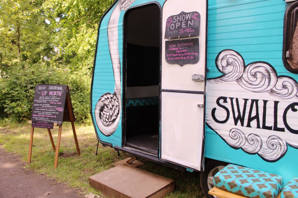 Image result for swallow the sea caravan theatre