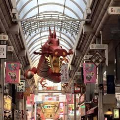 今日は、ホームページなどの文章について相談をしてきました。ありがとうございました♪ 帰り道の武蔵小山の商店街では、龍と遭遇!