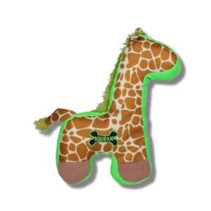Veľká odolná hračka Žirafa pre psa