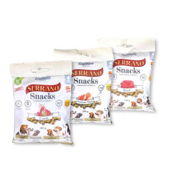 Pamlsky Serrano Snack