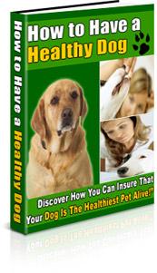 Healthy dog book