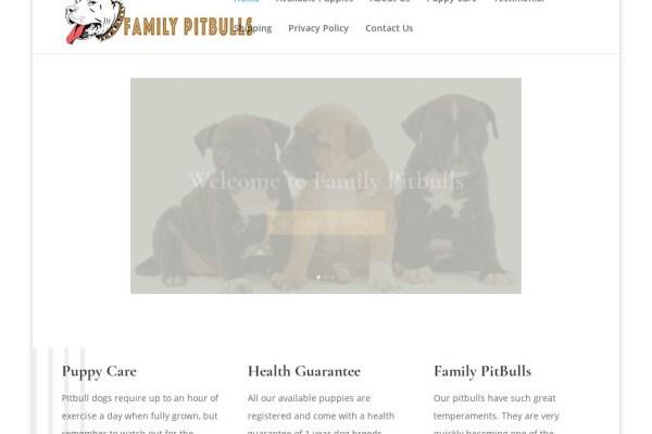 Familypitbulls.com - Pit Bull Puppy Scam Review