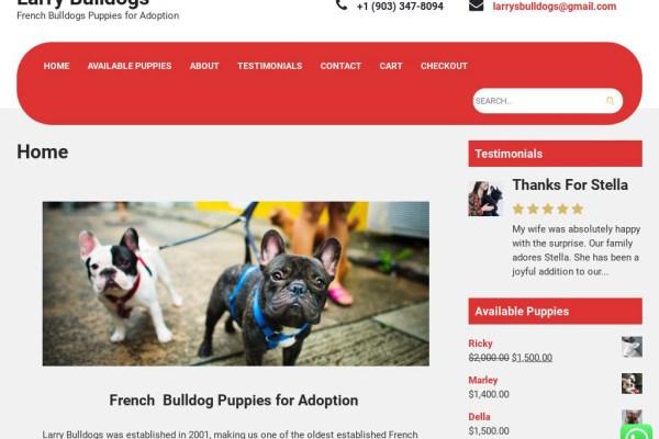 Larrysbulldogs.com - Bulldog Puppy Scam Review