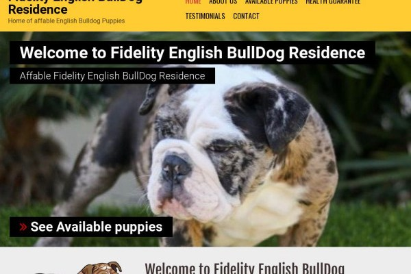 Fidelityenglishbulldogresidence.com - English Bulldog Puppy Scam Review