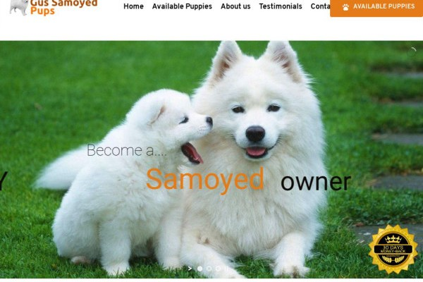 Gussamoyedpups.com - Pomeranian Puppy Scam Review