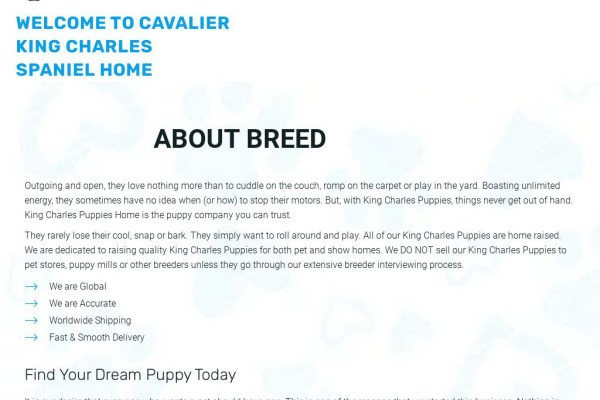 Kingcharlesspanielpuppies.com - Cavalier King Charles Spaniel Puppy Scam Review