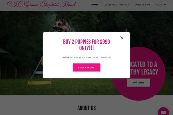Luxurygermanshepherdbreeders.club - Germanshepherd Puppy Scam Review