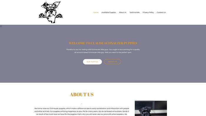 Claudeschnauzers.com - Schnauzer Puppy Scam Review