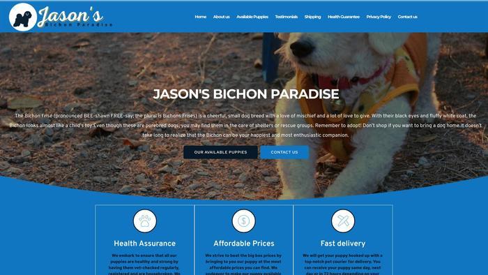 Jaysonsbichonparadise.com - Bichon Frise Puppy Scam Review