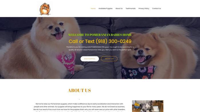 Pomeranianbabieshome.com - Pomeranian Puppy Scam Review