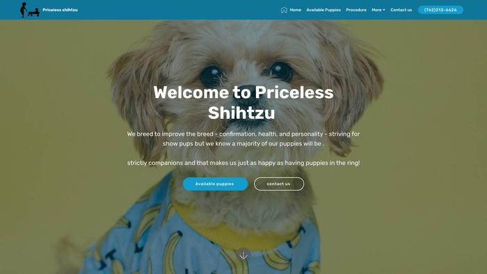 Pricelessshihtzu.com - Shihtzu Puppy Scam Review