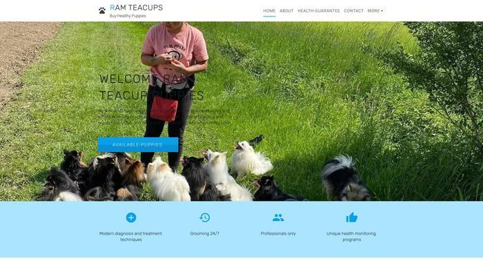 Ramteacuppomerania.com - Pomeranian Puppy Scam Review