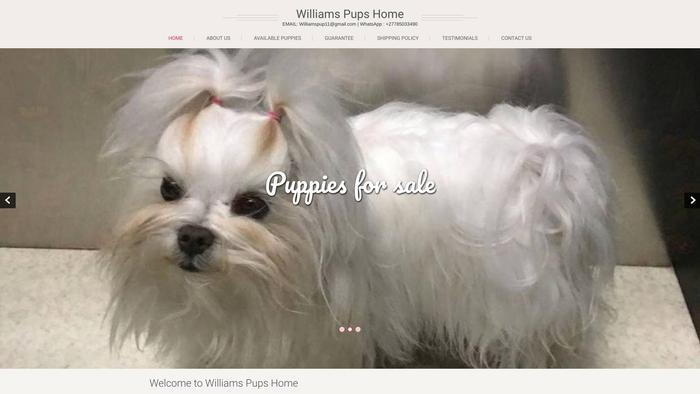 Williamspupshome.com - French Bulldog Puppy Scam Review