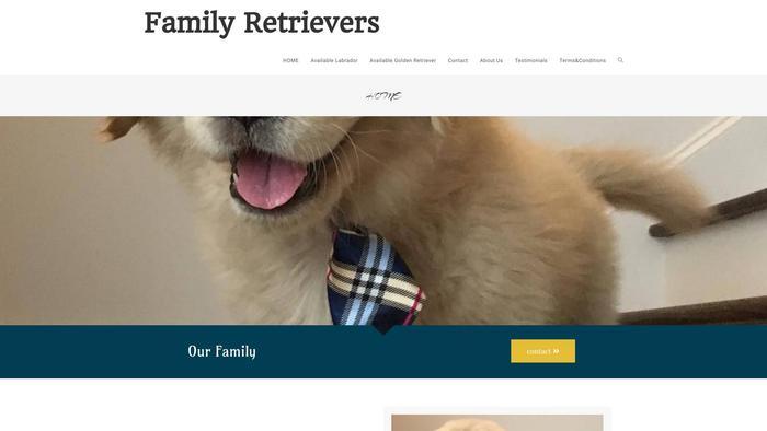 Familyretriver.com - Golden Retriever Puppy Scam Review