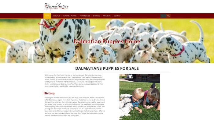 Jasondalmatians.com - Labrador Puppy Scam Review