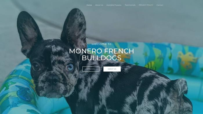 Monerofrenchbulldogs.com - French Bulldog Puppy Scam Review