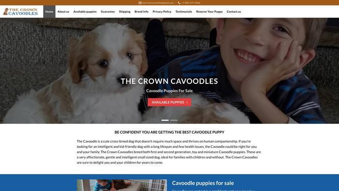 Thecrowncavoodles.com - Cavapoo Puppy Scam Review