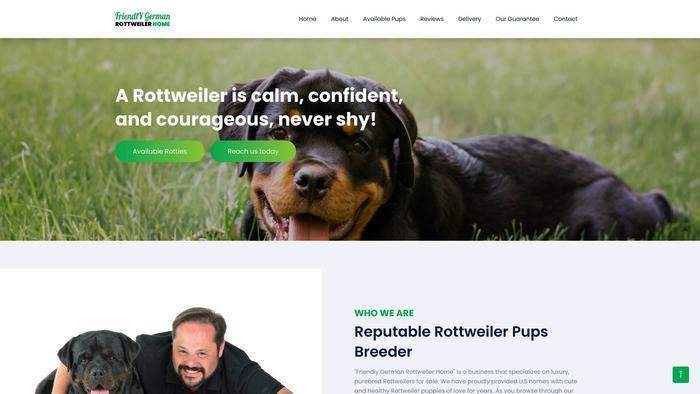 Friendlygermanrottweilerhome.com - Germanshepherd Puppy Scam Review