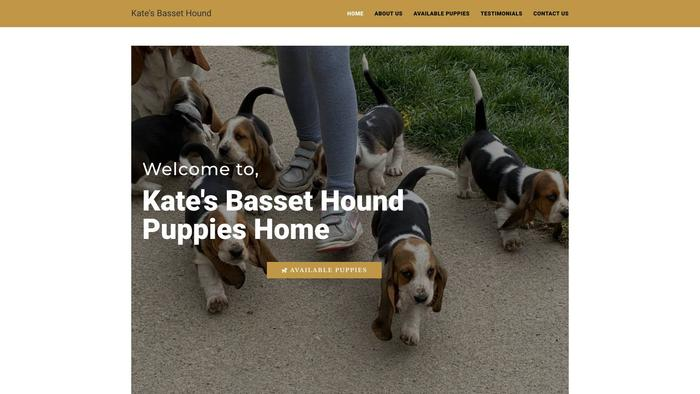 Katesbassethound.com - Bassethound Puppy Scam Review