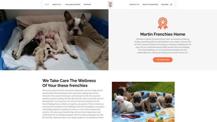 Martinfrenchieshome.com - French Bulldog Puppy Scam Review